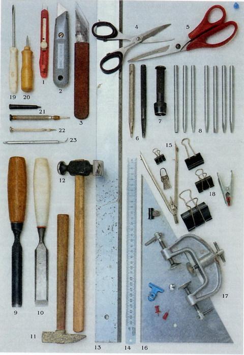 Инструмент для работы по коже своими руками