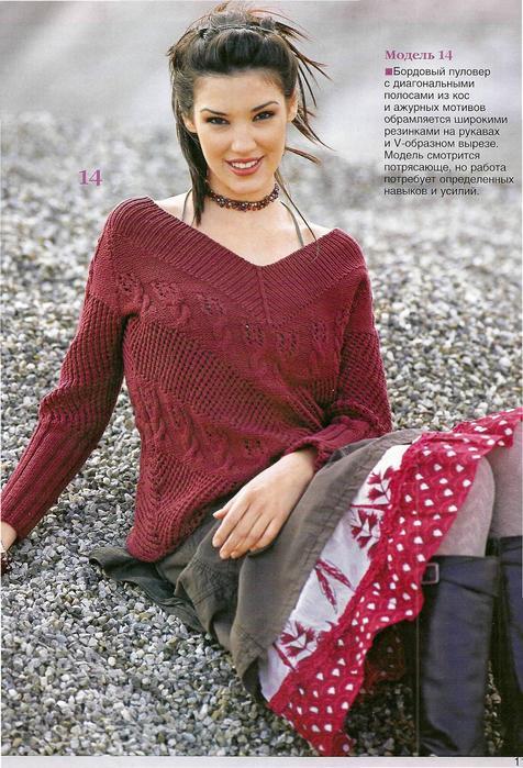 Вязание на спицах Knitting.