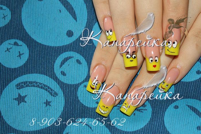 Как нарисовать смайлики на ногтях ...: pictures11.ru/kak-narisovat-smajliki-na-nogtyah.html