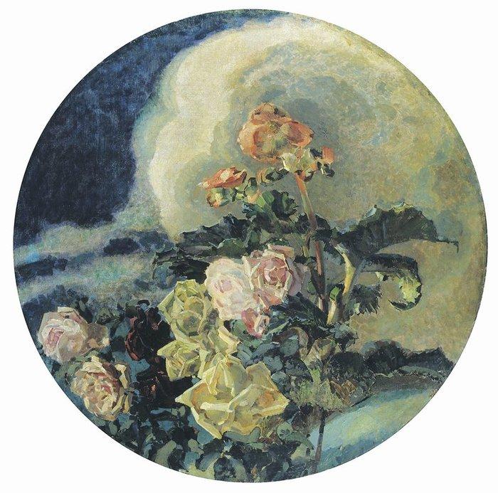 Михаил Врубель Желтые розы