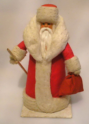 Дед мороз из ваты своими руками фото