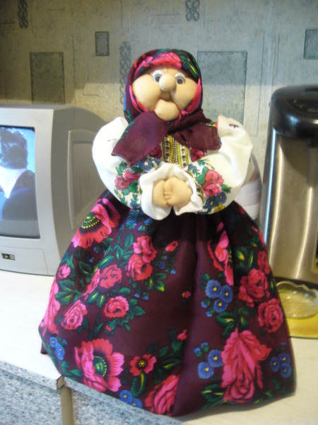 Кукла грелка на чайник своими руками выкройки