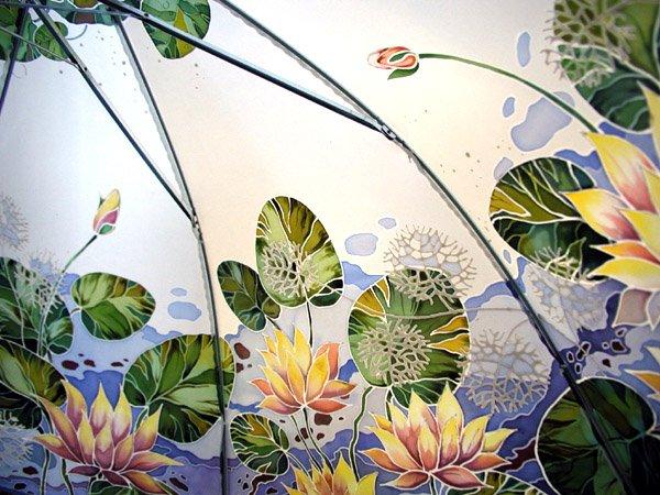 Ба́тик - ручная роспись по шёлку.  На шёлк (влажный, сухой, горячий) наносится краска, которая закрепляется в течение...