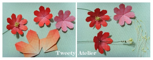 Простой цветок из бумаги своими руками пошаговая инструкция