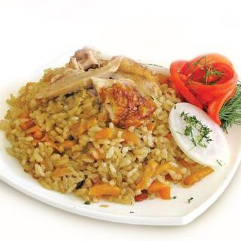 Рецепт приготовления узбекского плова со свининой.
