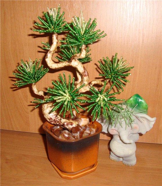 деревья из бисера схема - Интересные полезности.