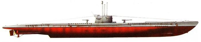 вмф подводные лодки германии