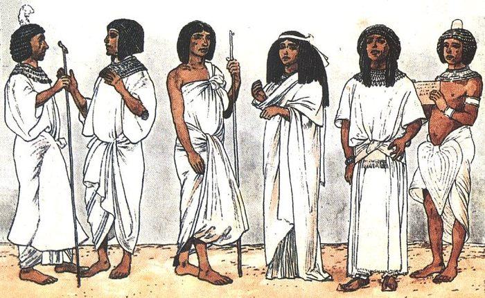 Идеалом красоты Древнего Египта была стройная и грациозная женщина с полными губами и большими миндалевидными глазами.