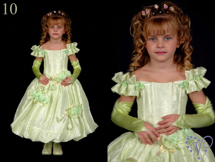 Готовая выкройка детского платья, предложенная вашему вниманию.
