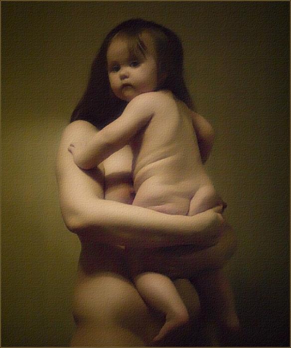 Обнажал Дочь