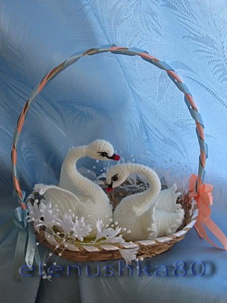 сувенир лебедь своими руками