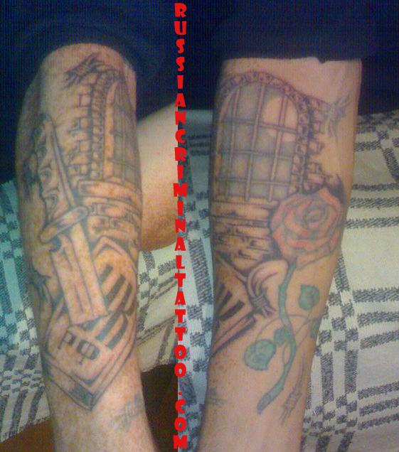 Тюремные наколки,татуировки,значения наколок,фотографии.