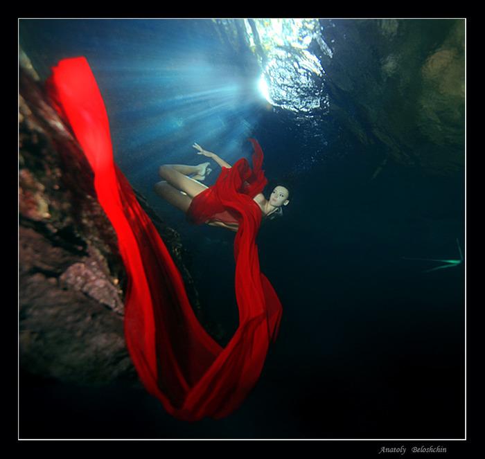Фото обнажённые красивые девушки под водой 11 фотография