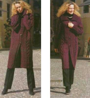 Вязание Пальто Модели И Схемы