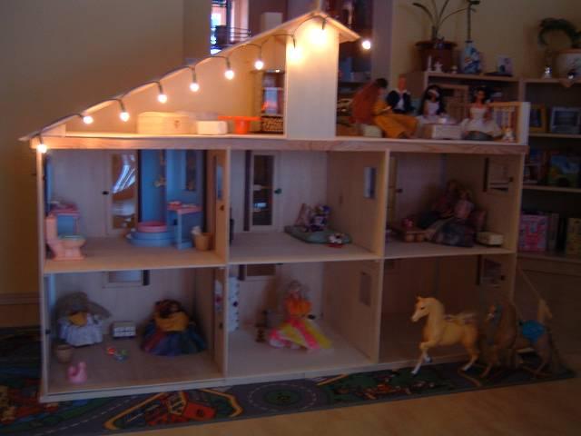 Кукольный домик для кукол своими руками видео