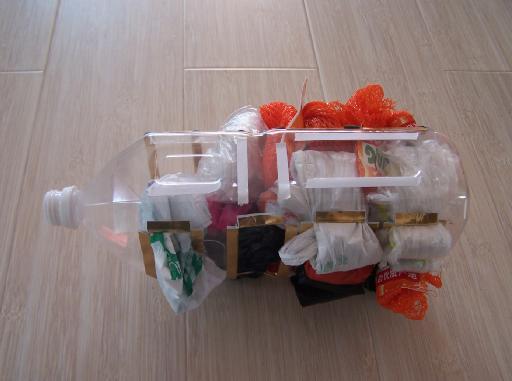 Много чего можно сделать полезного и симпатичного!  Из пластмассовых бутылок.  Прочитать целикомВ.