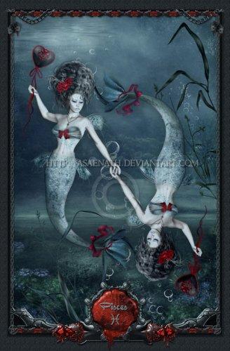 Женщина–Рыба ярко выраженной индивидуальностью и изяществом.  Она мила и очаровательна.