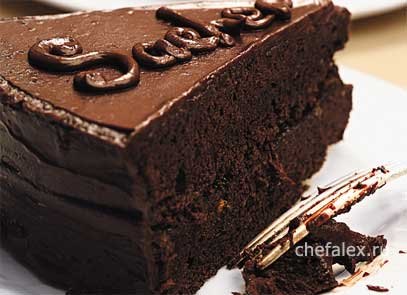 Рецепт торта захер фото