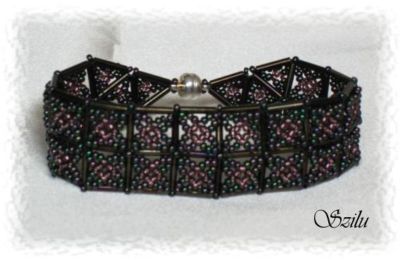 Схемы широких браслетов из бисера делюсь подборочкой схем широких браслетов из бисера в.