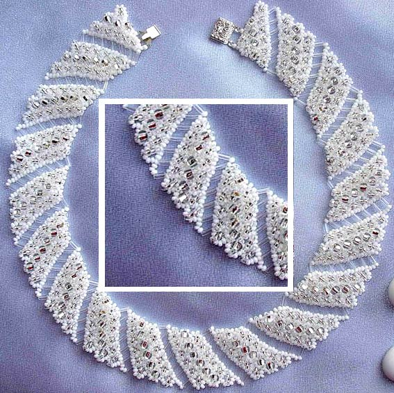 ожерелье из бисера схема.