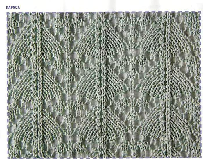 ажурные воланы спицами, снуд схема и вязание спицами платок шарф.