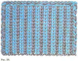 Вязанные шапки для женщин с мехом