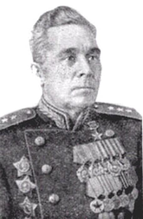 Гвардии генерал-лейтенант па белов
