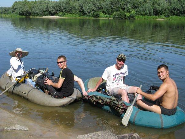 где можно плавать на резиновой лодке