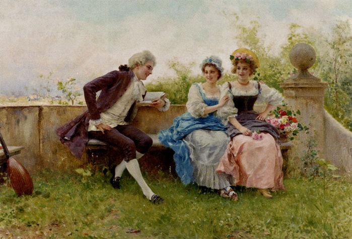 """Схема вышивки  """"Стихотворение """": таблица цветов."""