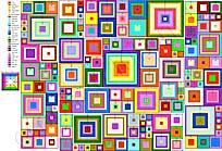 Как вязать квадраты... http://www.youtube.com/watch?v=gJCd-V2D5k.  Если у Вас другие цвета или их число...