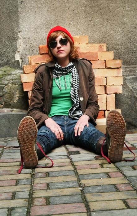 Стильного парня или девушку, предпочитающего гранж стиль в одежде, от...