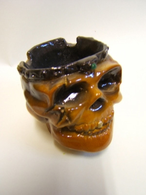 Пепельница из глины