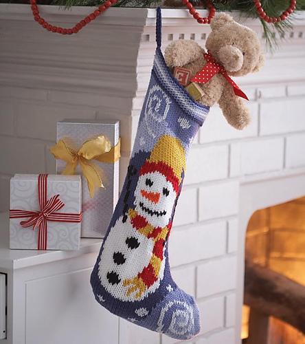Носки для подарков связать 6