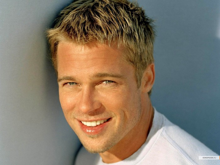 Brad Pitt: портрет, знаменитости, мужчины, портрет 1400х1050 - Обои для рабочего стола. Wallpapers