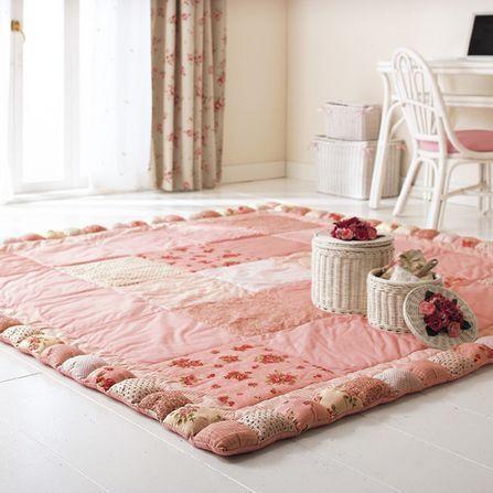 Мастер класс для мягкого коврика