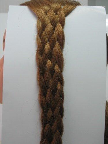 Плетение косичек из 4, 6, 8, 12 прядей Причёски для длинных волос.