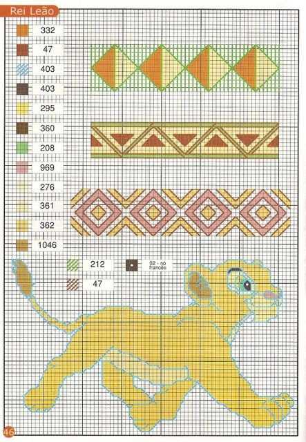 вышивка крестиком схема