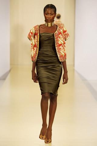 Африканские мотивы в одежде.
