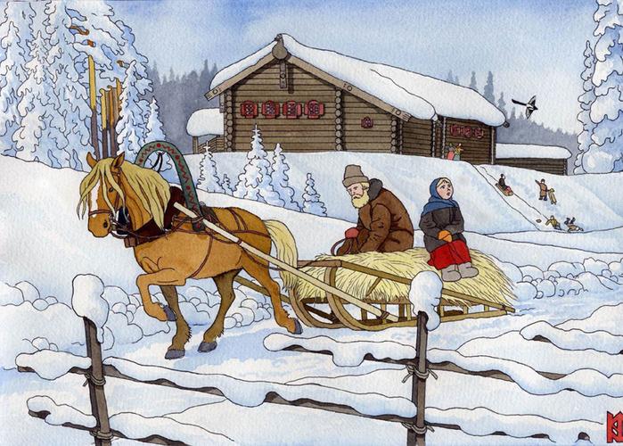 Мужчины отправлялись в хлева, курятники, конюшни, свинарники, голубятни и прочие помещения, в которых содержались...