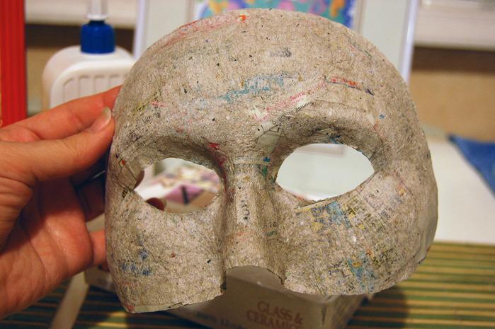 Основа для маски из папье маше своими руками 11