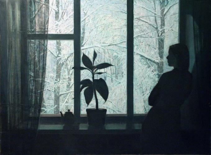 Зимний вечер., Автор: Шумейко Антон Алексеевич.