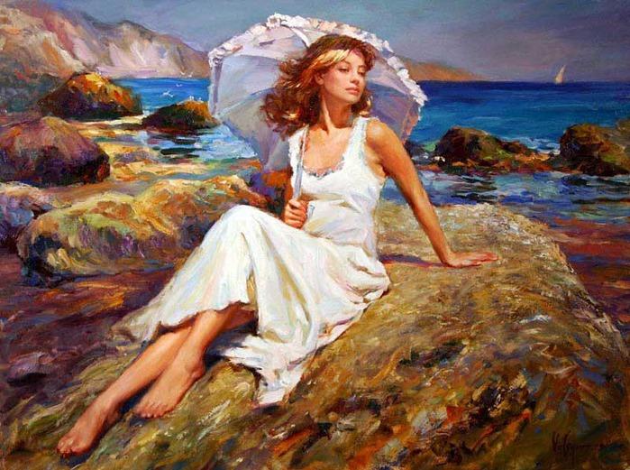 Художник который рисует женщин