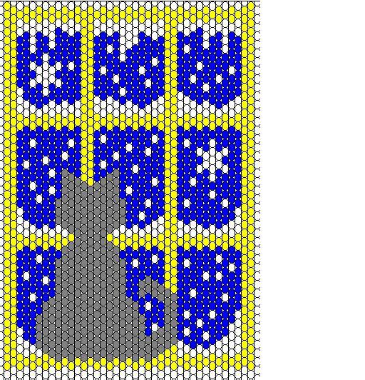 бисер чехол для телефона схема - Сайт о бисере.