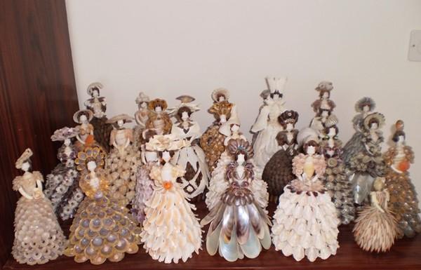 Куклы своими руками из ракушек своими руками