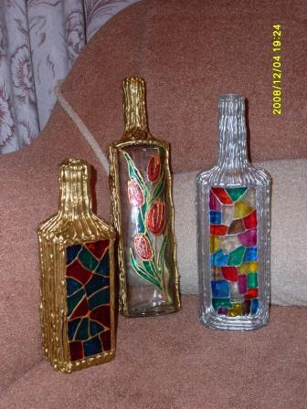 Craft Ideas Glass Bottles on More Ideas To Decor Glass Bottles   Crafts Ideas   Crafts For Kids