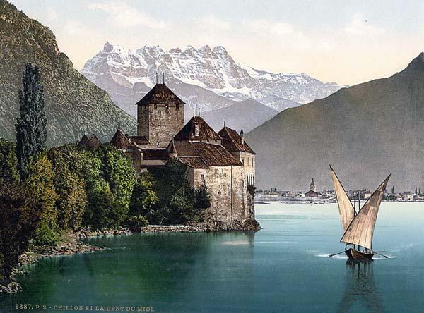 Старинные замки в фотографиях 1890 1900