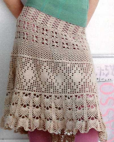 Crochet Patterns Skirt : CROCHET SKIRTS#FREE PATTERNS. - CrochetRibArt