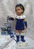 Нео-Снегурочка Перед Новым годом на одном из кукольных сайтов объявили конкурс карнавальных костюмов и решила я...