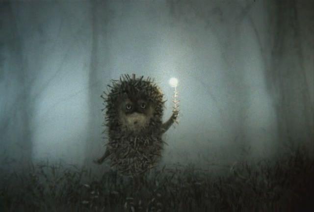 Юрия норштейна ежик в тумане
