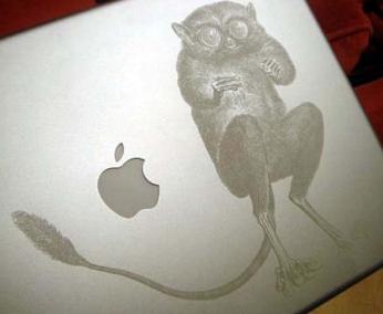 У многих из нас есть ноутбуки, но не каждый желает сделать свой ноутбук оригинальным.  А ведь это совсем не сложно...